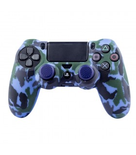 PS4 Silicone + Grips Camo...